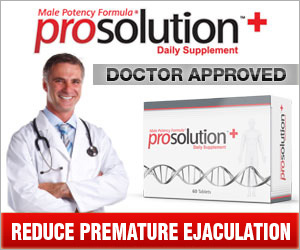 REDUCE PREMATURE EJACULATION
